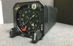 1784460-355, GYROSYN COMPASS INDICATOR, OVERHAULED, FRESH DUAL RELEASE TAG, 18 MONTH WARRANTY, OUTRIGHT OR EXCHANGE AVAILABLE