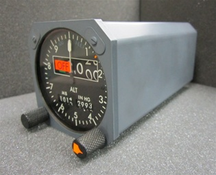 2055-01-1, SERVOED ALTIMETER INDICATOR, SERVICEABLE CONDITION WITH A FRESH DUAL RELEASE 8130-3 TAG, ONE YEAR WARRANTY. Since 1982 B & G Instruments, Inc. has been committed to the highest standard of aircraft and flight simulator instrument and accessory