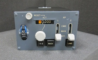 3759028-6, CONTROL PANEL, PITCH GUIDANCE, Since 1982 B & G Instruments, Inc. has been committed to the highest standard of aircraft and flight simulator instrument and accessory service. We are conveniently located in the Pan Am International Flight Acade