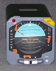 48-60V5M1, ATTITUDE DIRECTOR INDICATOR, OVERHAULED BY B&G INSTRUMENTS WITH A FRESH 8130-3 TAG, 18 MONTH WARRANTY, IN STOCK, READY TO GO!, OUTRIGHT OR EXCHANGE AVAILABLE