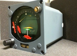 522-4430-005, FLIGHT DIRECTOR INDICATOR, OVERHAULED BY B&G INSTRUMENTS WITH A FRESH 8130-3 TAG AND 18 MONTH WARRANTY, OUTRIGHT OR EXCHANGE AVAILABLE