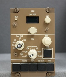 622-5048-344, EFIS CONTROL PANEL, OVERHAULED, FRESH 8130-3 TAG BY B&G INSTRUMENTS AND 2 YEAR WARRANTY,  OUTRIGHT OR EXCHANGE AVAILABLE,