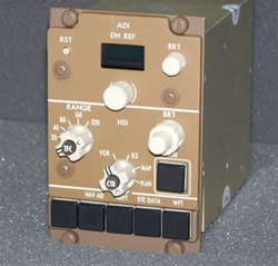 622-5048-361, EFIS CONTROL PANEL, OVERHAULED BY B&G INSTRUMENTS WITH A FRESH 8130-3 TAG & 2 YEAR WARRANTY, OUTRIGHT OR EXCHANGE AVAILABLE, READY TO GO!