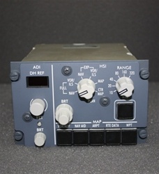 622-8001-001, EFIS CONTROL PANEL, OVERHAULED BY B&G INSTRUMENTS WITH A FRESH 8130-3 TAG AND 2 YEAR WARRANTY, OUTRIGHT OR EXCHANGE AVAILABLE,
