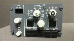 622-8001-370, EFIS CONTROL PANEL, OVERHAULED BY B&G INSTRUMENTS WITH 2 YEAR WARRANTY, OUTRIGHT OR EXCHANGE AVAILABLE, EFIC-701D, S242T404-370, BOEING 737, COLLINS, 622-, 6228001370, 622-8001-, 622-8001