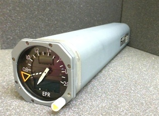 63601-650-2, EPR INDICATOR, OVERHAULED, FRESH 8130-3 B&G INSTRUMENTS TAG WITH 18 MONTH WARRANTY, OUTRIGHT OR EXCHANGE AVAILABLE, READY TO GO!; B&G Instruments is a 145 FAA repair station No.LR4R346M, in business since 1982. B&G has been committed to the h