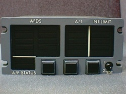 D434-36-001, ANNUNCIATOR FLIGHT MODE,  OVERHAULED BY B&G INSTRUMENTS AND 18 MONTH WARRANTY, OUTRIGHT OR EXCHANGE AVAILABLE,