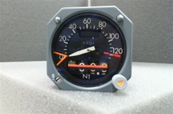 8DJ176WAZ2, ENGINE FAN SPEED INDICATOR, OVERHAULED, FRESH TAG BY B&G INSTRUMENTS AND 18 MONTH WARRANTY, TRACE:129, B&G Instruments is a 145 FAA repair station No.LR4R346M,