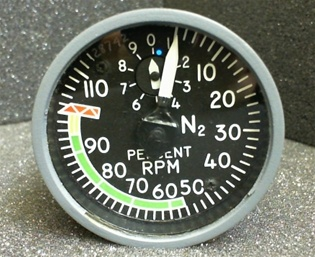 8DJ81LXH2, TACHOMETER INDICATOR, OVERHAULED, FRESH TAG 8130-3, 18 MONTH WARRANTY, READY TO GO!,OUTRIGHT OR EXCHANGE AVAILABLE, Since 1982 B & G Instruments, Inc. has been committed to the highest standard of aircraft and flight simulator instrument and ac