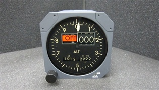 B1800-81103, ALTITUDE INDICATOR, OVERHAULED, FRESH 8130-3, 18 MONTH WARRANTY, Since 1982 B & G Instruments, Inc. has been committed to the highest standard of aircraft and flight simulator instrument and accessory service.