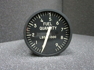 JG402A52, FUEL QUANTITY INDICATOR, OVERHAULED, FRESH 8130-3 TAG, 18 MONTH WARRANTY, Since 1982 B & G Instruments, Inc. has been committed to the highest standard of aircraft and flight simulator instrument and accessory service. We are conveniently locate